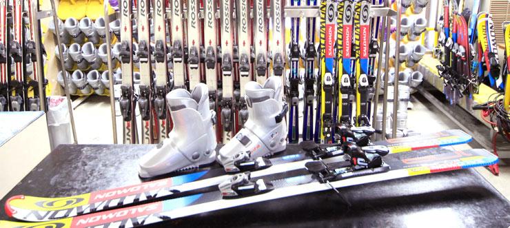 スキー乾燥室・スキーレンタルイメージ
